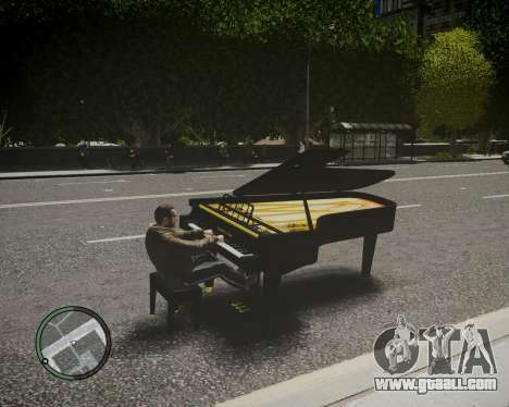 Crazy Piano for GTA 4