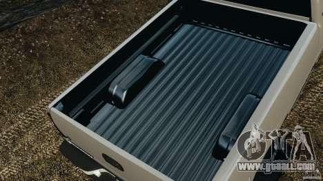 Chevrolet Silverado 2500 Lifted Edition 2000 for GTA 4 bottom view