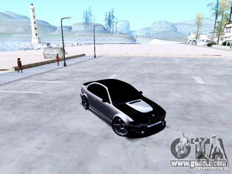 BMW 318i E46 Drift Style for GTA San Andreas inner view