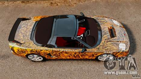 Honda NSX-R (NA2) 2005 for GTA 4 right view