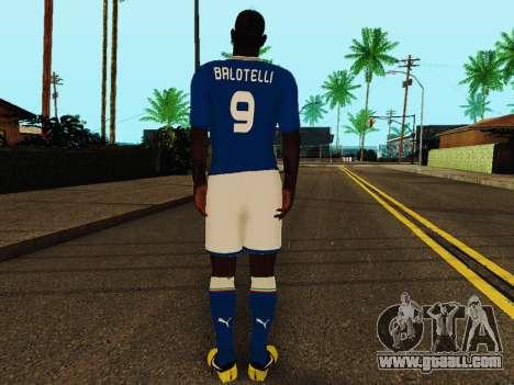 Mario Balotelli v4 for GTA San Andreas forth screenshot