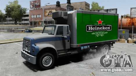 The new advertisement for truck Yankee for GTA 4 back view
