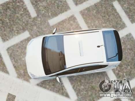Toyota Prius EKO TAXI (Hrvatski taxi) for GTA 4 right view