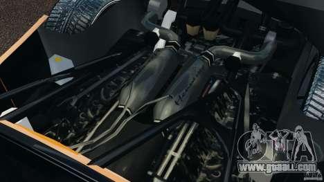 Hennessey Venom GT Spyder for GTA 4 back view