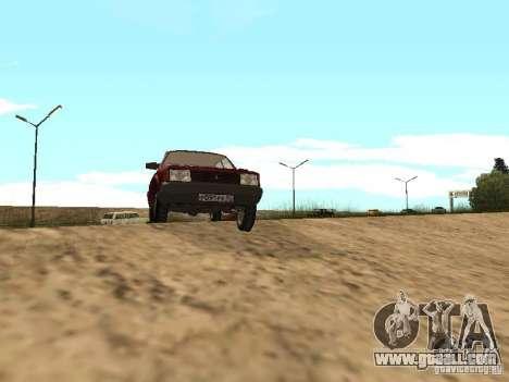 AZLK Moskvich 2141 for GTA San Andreas left view