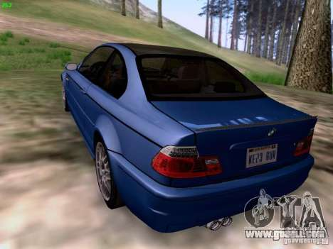 BMW M3 Tunable for GTA San Andreas left view