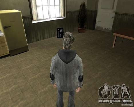 Alan Wake for GTA San Andreas third screenshot