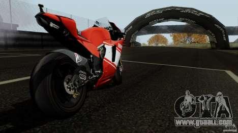 Ducati Desmosedici RR for GTA San Andreas right view
