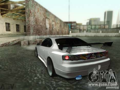 Nissan Silvia S15 for GTA San Andreas back view