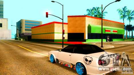 Black and White Elegy for GTA San Andreas left view