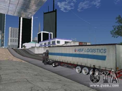 Trailer Schmitz for GTA San Andreas left view