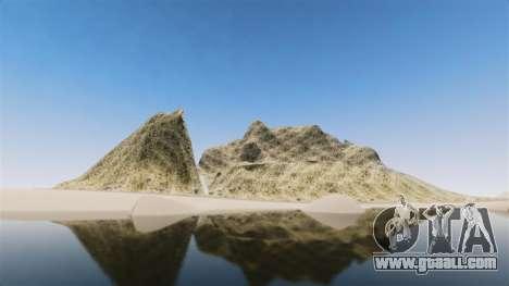 Mountain peak for GTA 4