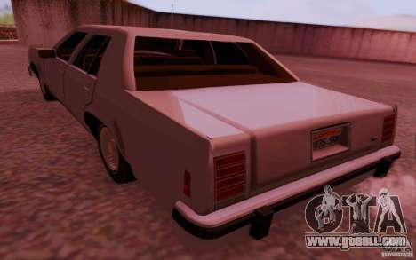 Ford Crown  Victoria LTD 1985 for GTA San Andreas left view
