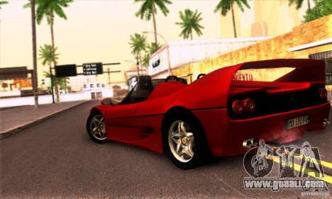 Ferrari F50 Spider for GTA San Andreas right view