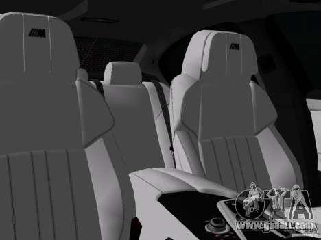 BMW M5 F10 2012 for GTA Vice City wheels