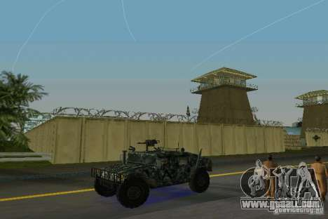 Hummer HMMWV M-998 1984 for GTA Vice City left view