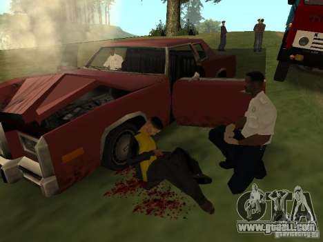 A horrible accident for GTA San Andreas third screenshot