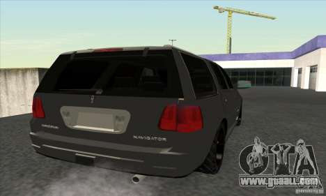 Lincoln Navigator for GTA San Andreas right view