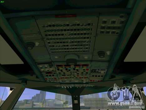 Airbus A380-800 for GTA San Andreas interior