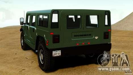 Hummer H1 Alpha for GTA 4 back left view