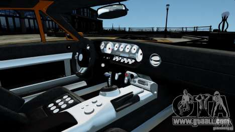 Ford GT 2005 v1.0 for GTA 4 upper view