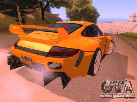 Porsche 911 Turbo Tuning for GTA San Andreas right view