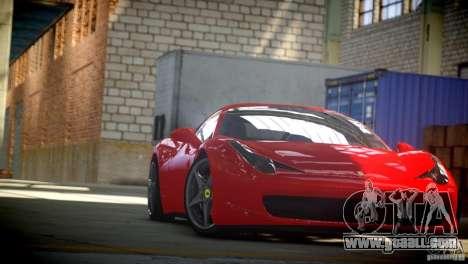 Ferrari 458 Italia 2010 Autovista for GTA 4