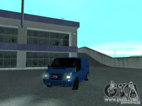Ford Transit Sport 2011 for GTA San Andreas back left view