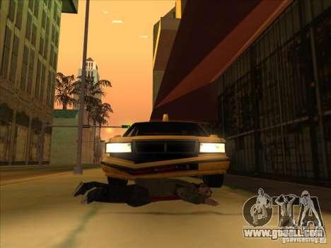 Blood drive v2 for GTA San Andreas third screenshot