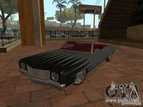 1970 Chevrolet Monte Carlo for GTA San Andreas side view