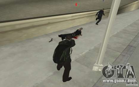 Animating the body of GTA IV for GTA San Andreas sixth screenshot