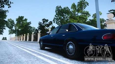 Civilian Taxi - Police - Noose Cruiser for GTA 4 back left view