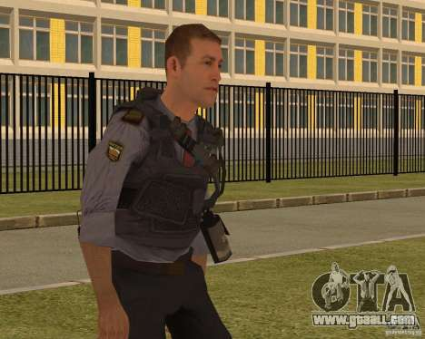 THE MINISTRY OF INTERNAL AFFAIRS OF RUSSIA for GTA San Andreas third screenshot