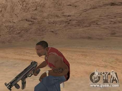 MP5K for GTA San Andreas third screenshot