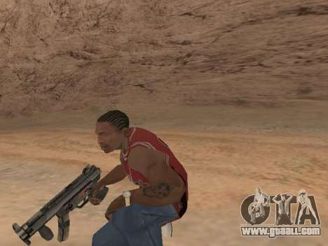 MP5K for GTA San Andreas sixth screenshot