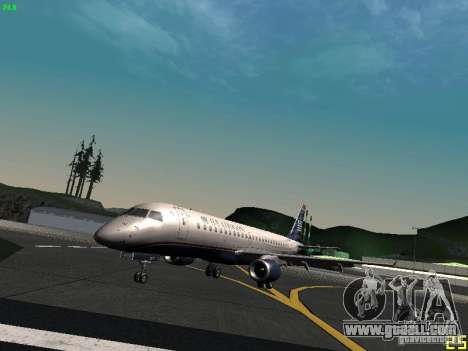 Embraer ERJ 190 USAirways for GTA San Andreas