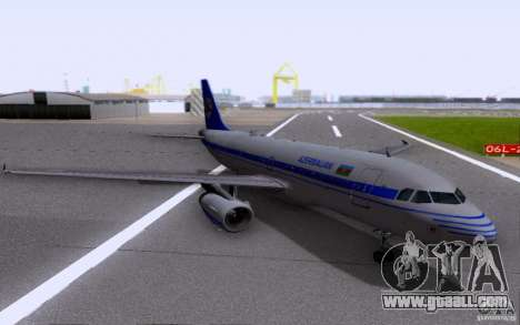 Airbus A-319 Azerbaijan Airlines for GTA San Andreas