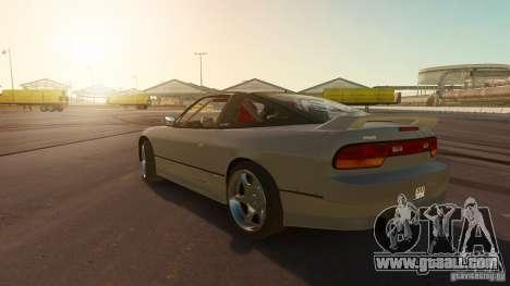Nissan 240SX Drift for GTA 4 left view