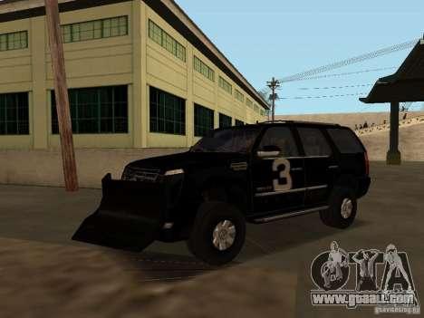 Cadillac Escalade Tallahassee for GTA San Andreas side view