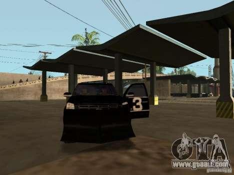 Cadillac Escalade Tallahassee for GTA San Andreas upper view