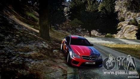 Mercedes Benz C63 AMG SAIBON Paint Job for GTA 4