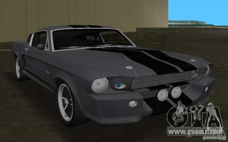 Shelby GT500 Eleanor for GTA Vice City