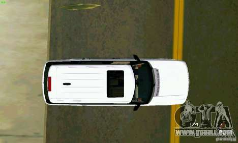 Land Rover Range Rover Supercharged 2008 for GTA Vice City back view
