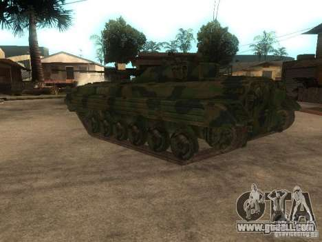 BMP-2 in COD MW2 for GTA San Andreas back left view