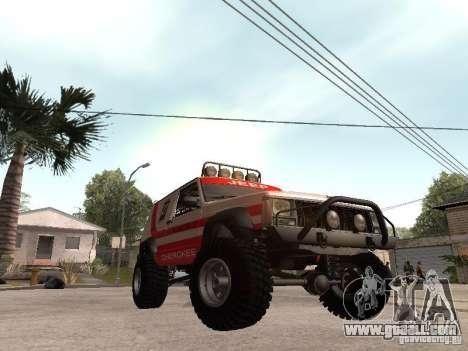 Jeep Cherokee 1984 for GTA San Andreas