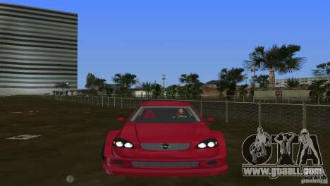 Opel Astra DTM for GTA Vice City back left view