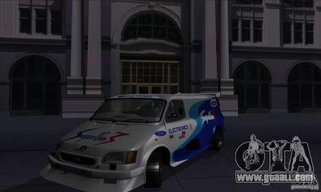 Ford Transit Supervan 3 2004 for GTA San Andreas