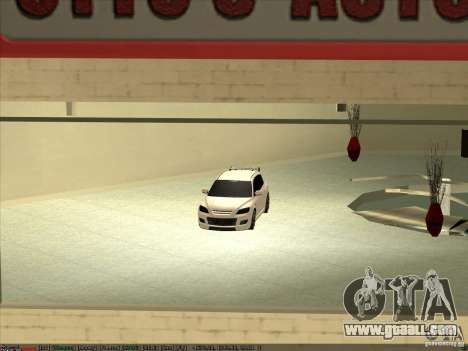 Mazda Speed 3 Stance v.2 for GTA San Andreas right view