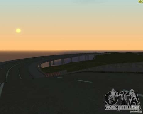 Finished building the road to Criminal Russia for GTA San Andreas third screenshot