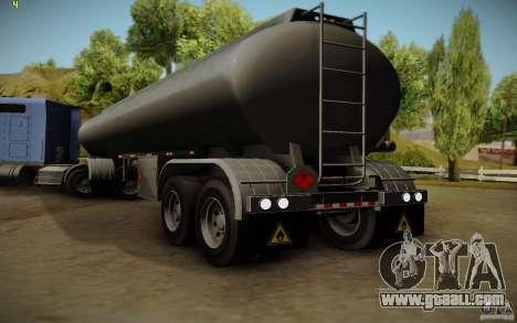 Caravan from Mack Pinnacle Rawhide Edition for GTA San Andreas left view